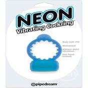 Image of Neon Vibrating Cockring Waterproof