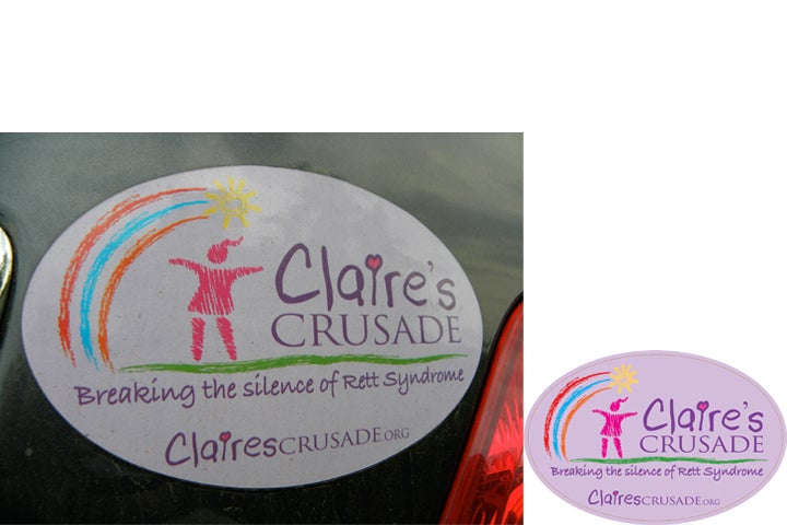 Image of Claire's Crusade Car Magnet