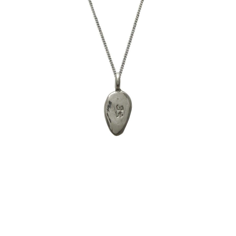 Image of Lotus Petal Necklace Om : Spiritual Enlightenment