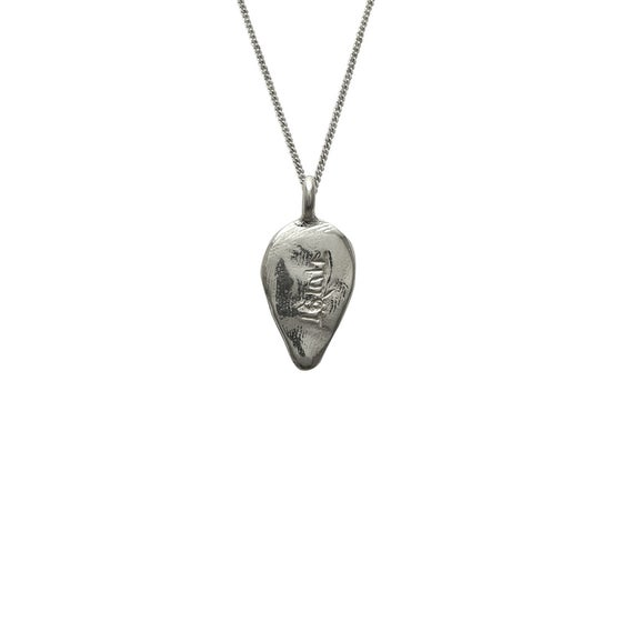 Image of Lotus Petal Necklace Ganesha : Protection, Intellect, Wisdom