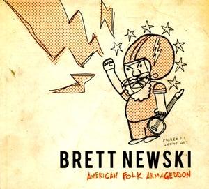 Image of Brett Newski- American Folk Armageddon