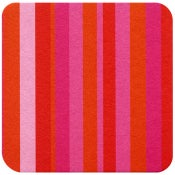 Image of Coasters in Pink Stripe • 16 pack