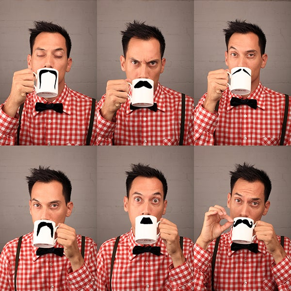 Image of Original Moustache Mug - Mustafa Chaplin
