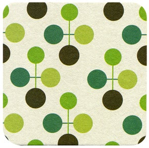 Image of Coasters in Citron Molecule • 16 pack
