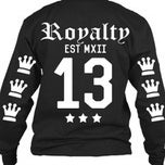 Image of Royalty long sleeve