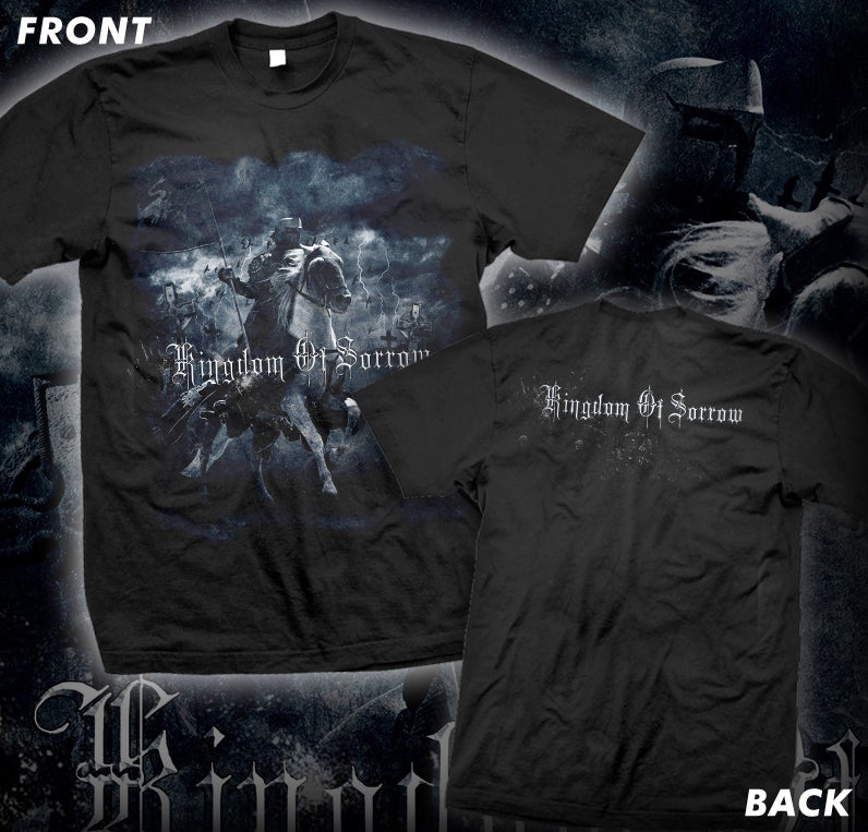 "Image of KINGDOM OF SORROW ""FIRST ALBUM COVER"" SHIRT"