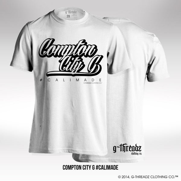 Image of G-Threadz Clothing Co. COMPTON CITY G (Tee)