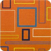 Image of Coasters in Orange Mosaic • 16 pack