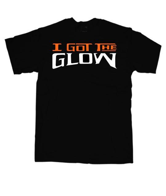 Image of I Got The Glow - (Glow in the Dark) Black/Orange