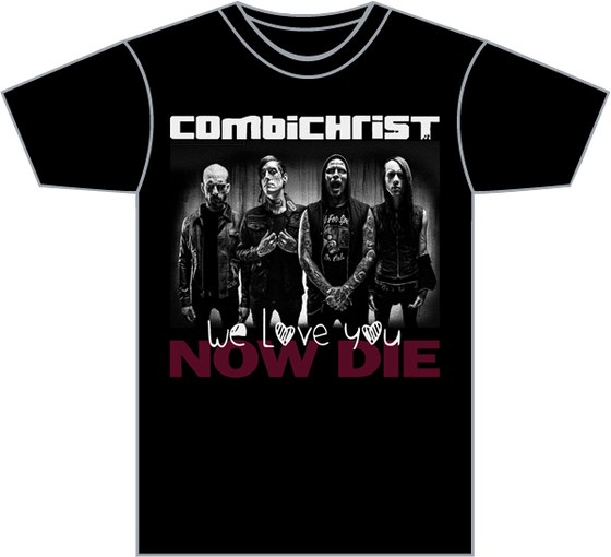 "Image of Combichrist ""2014 Band Photo"" Men's T-Shirt"