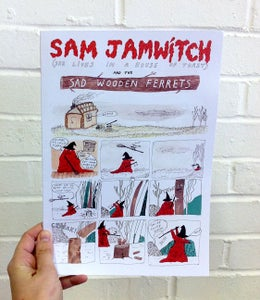 Image of Sam Jamwitch and the Sad Wooden Ferrets- Comic