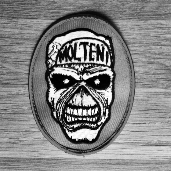 Image of Maiden Belgium Glow in the Dark Patch