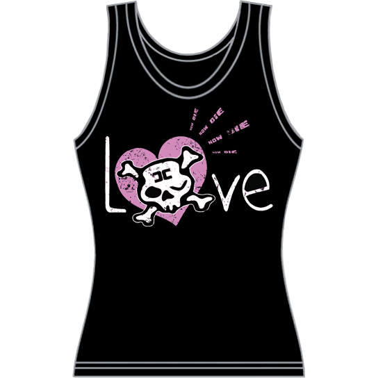 "Image of Combichrist ""Love"" Girls Tank"
