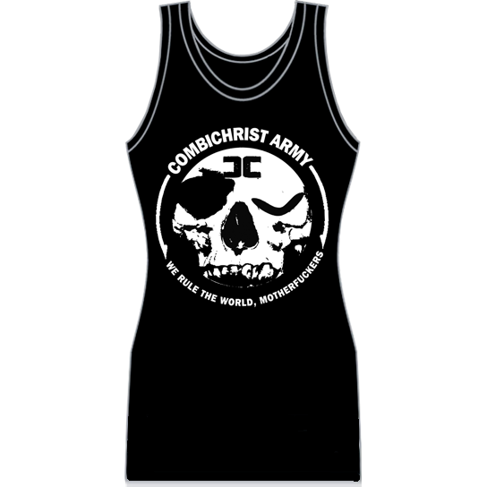 "Image of Combichrist ""Army"" Women's Racerback Tank Dress"