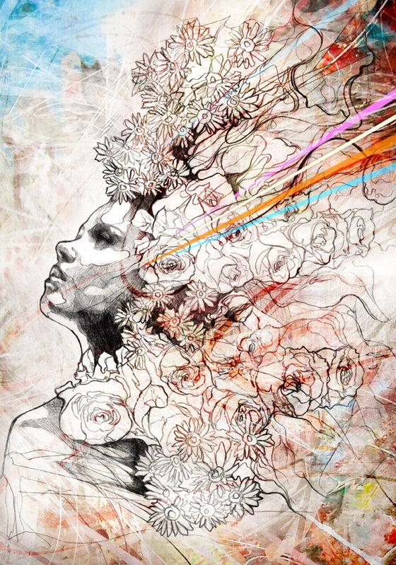 "Image of ""Seeking Dreams of Utopia"" Limited Edition Fine Art Print"