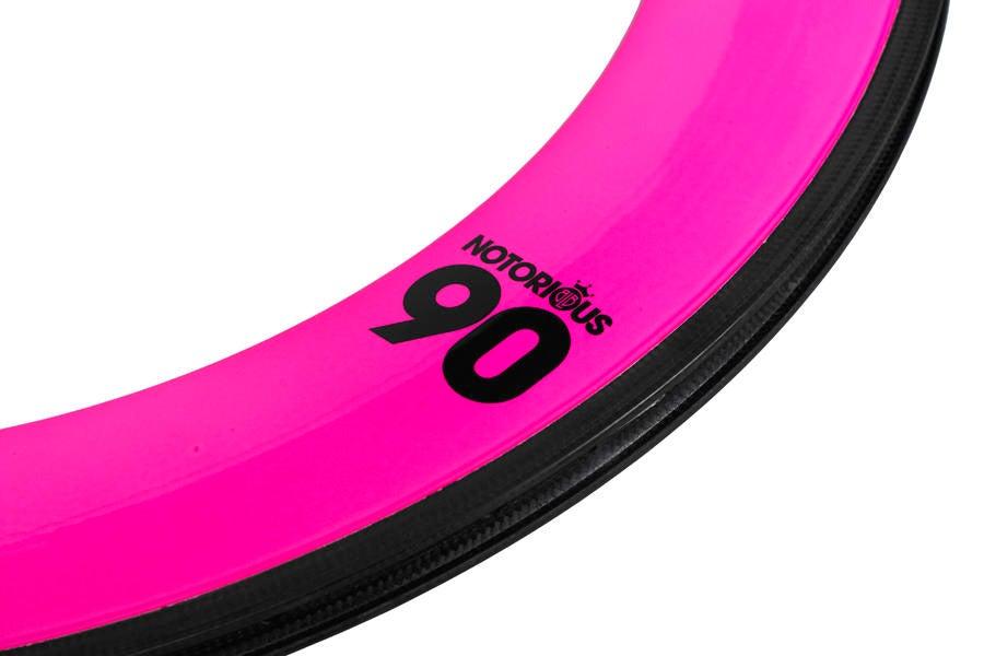 Image of BLB - Notorious 90MM Carbon Rim (Color)
