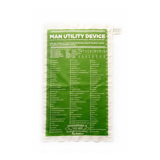 Image of MAN utility tea towel