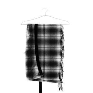 Image of Number (N)ine - FW07 Plaided Wrap Skirt