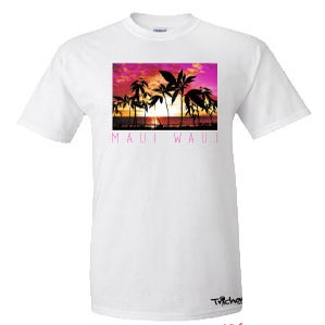 Image of Maui Waui T-Shirt In White