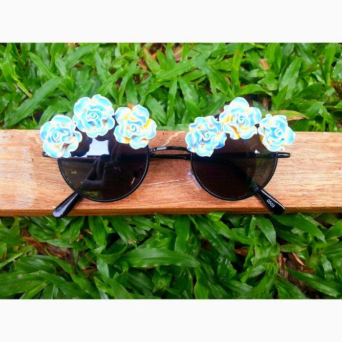 Image of Blue Roses Lennon Sunnies