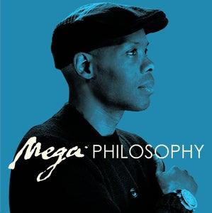 """Image of Cormega """"Mega Philosophy"""" BLUE COLORED LP (SOLD OUT)"""