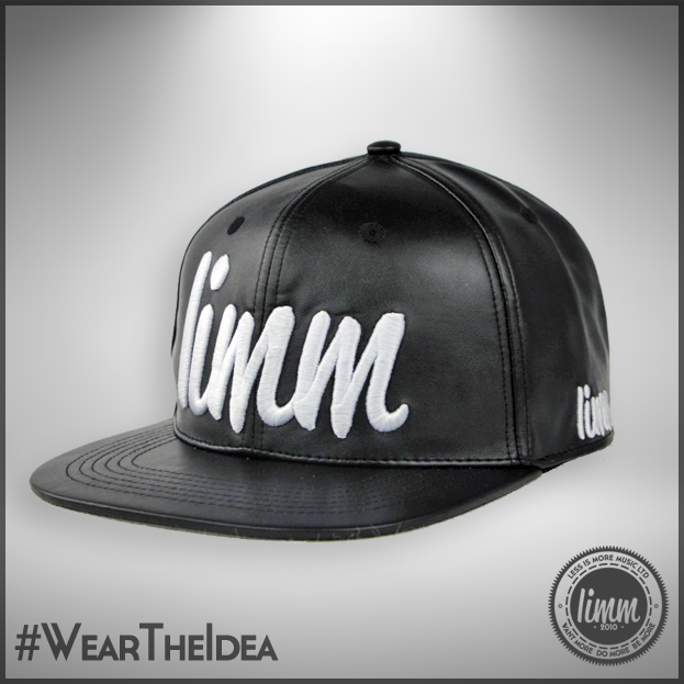 "Image of LIMM ""Revolution"" - Leather Strapback (Black)"