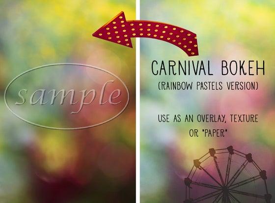 Image of Carnival Bokeh (Rainbow Pastels Version) Overlay