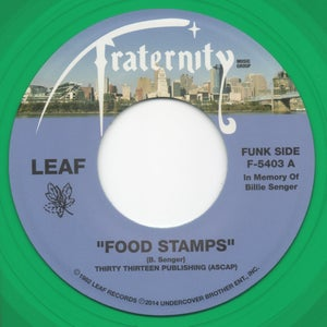 "Image of Food Stamps / How Do I Know - 7"" Vinyl"