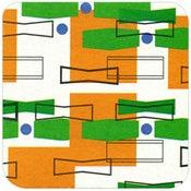 Image of Coasters in Orange Living Room • 16 pack