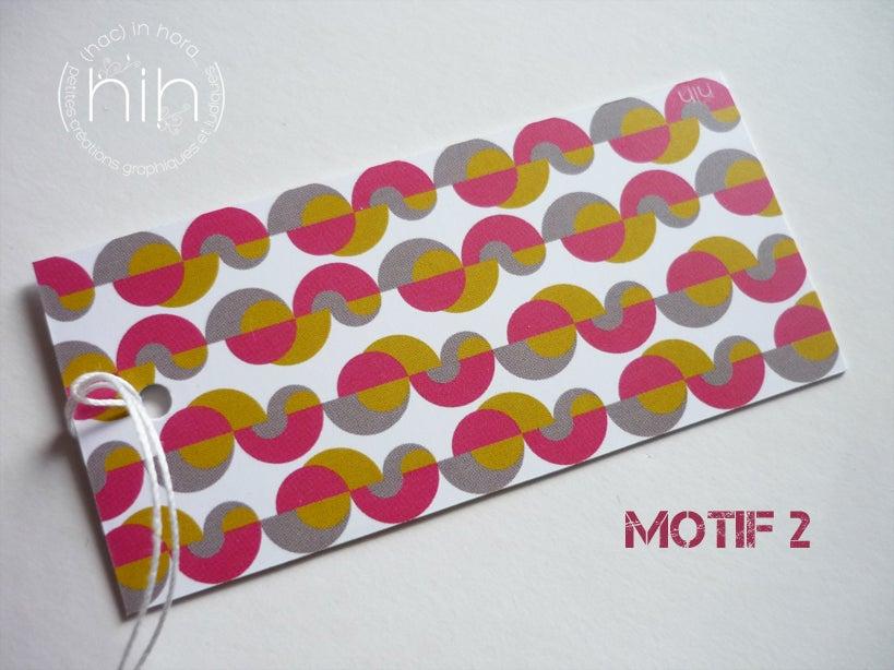 Image of étiquettes cadeau [GrAfiK] coloris 5