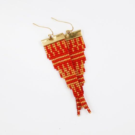 Image of Persia // Loom-beaded Earrings