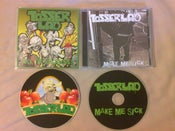 Image of Tosserlad - Make Me Sick + Fuck The Neighbours CDs