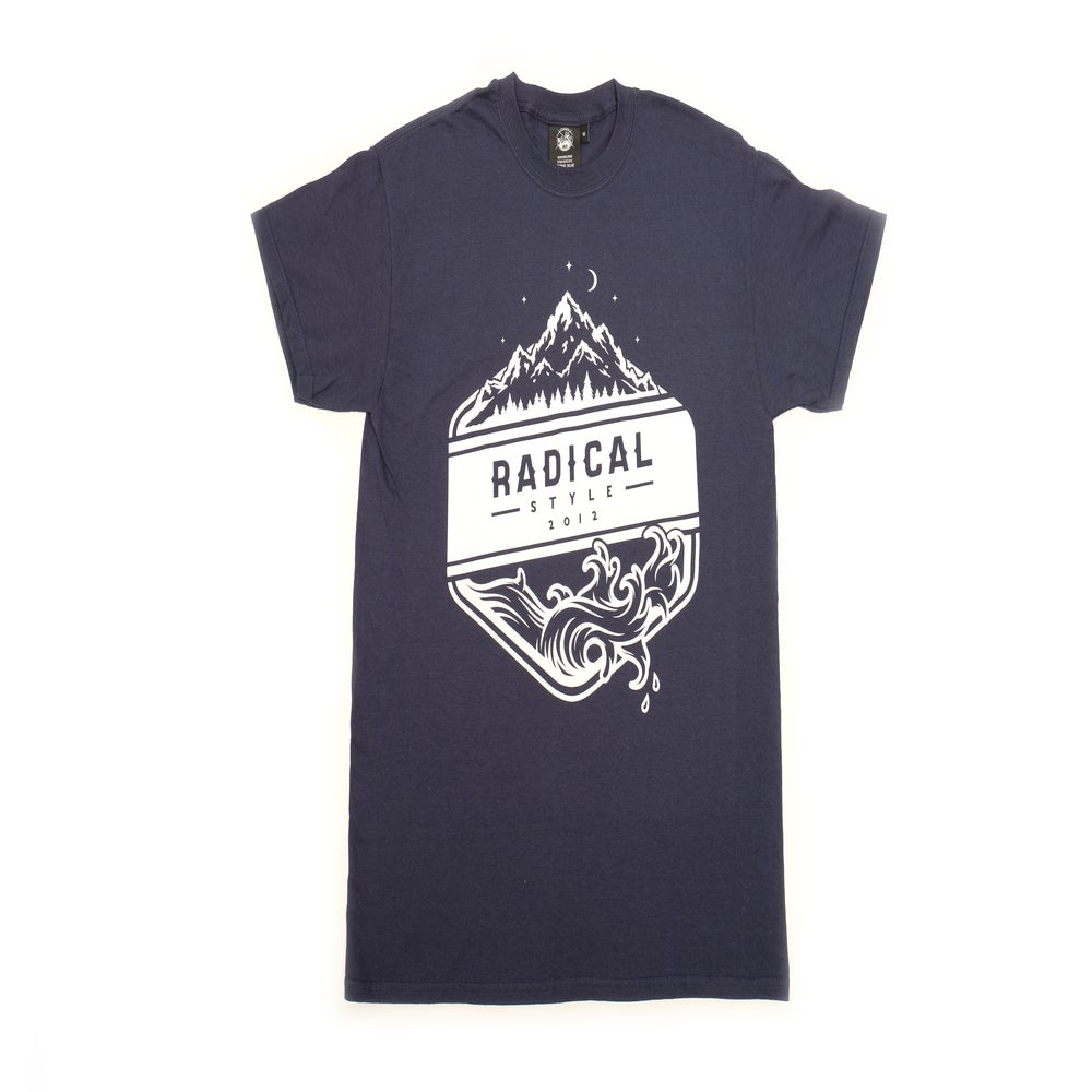 Image of Navy Sea & Sky T-Shirt