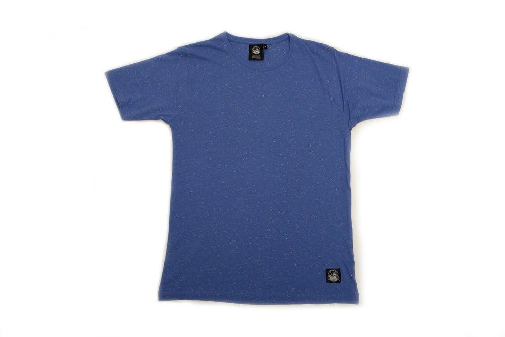Image of Blue Speckle T-Shirt