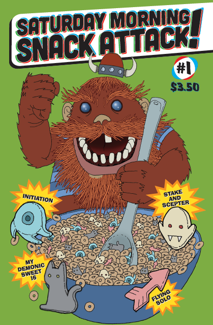 Image of Saturday Morning Snack Attack! Vol. 1