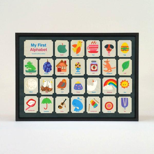 Image of Children's  First Alphabet Poster