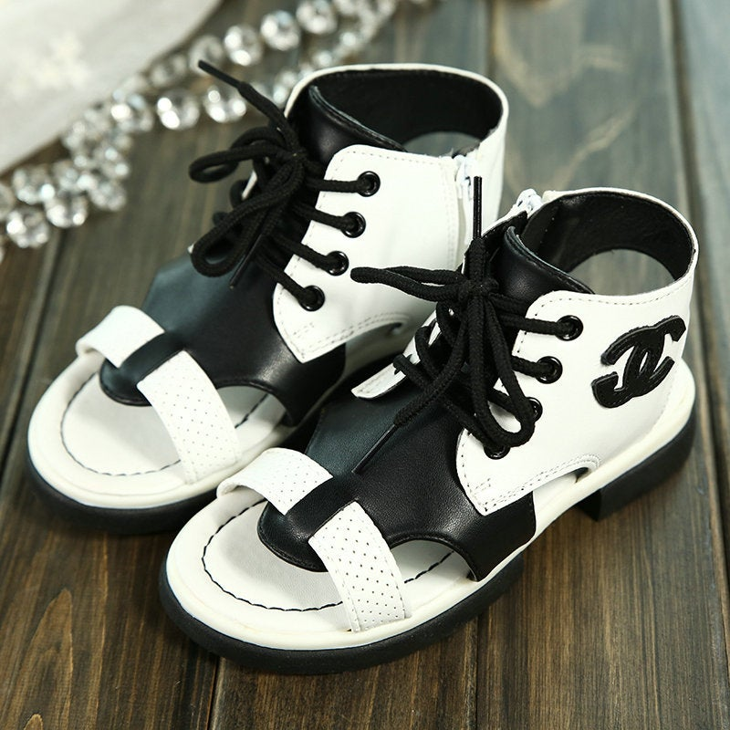 TODDLER Chanel Gladiator Sandals The Glam Pantry