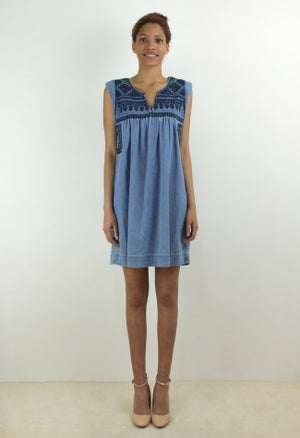 Image of DENIM DRESS
