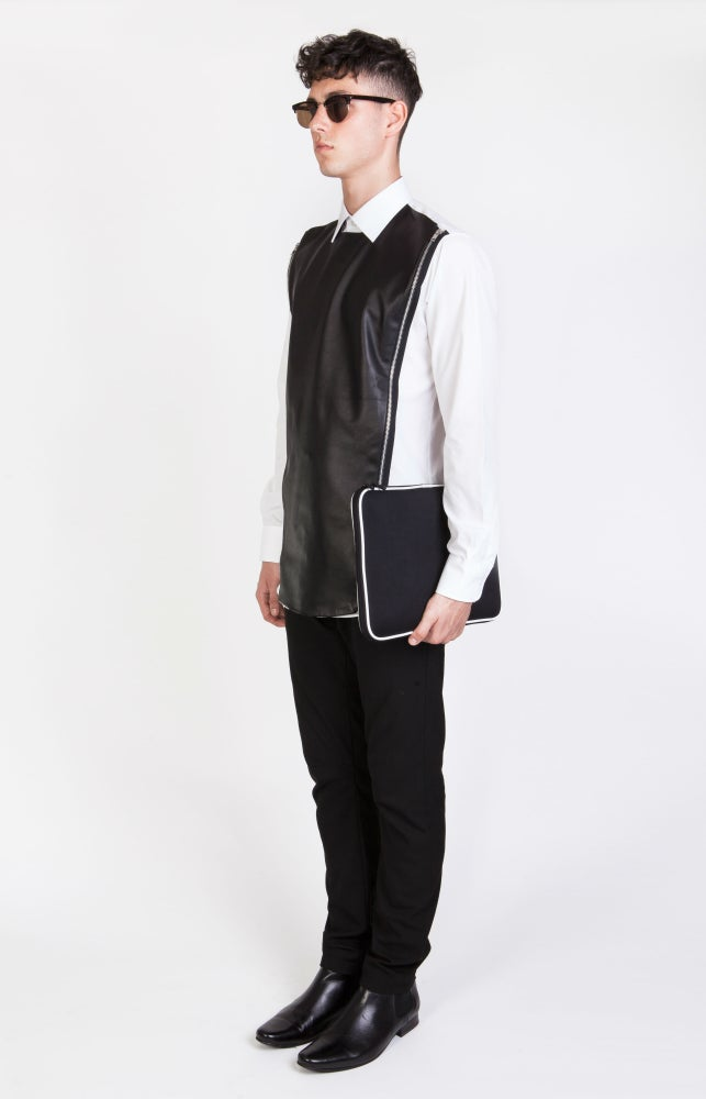 Image of SS Leather Armour Shirt