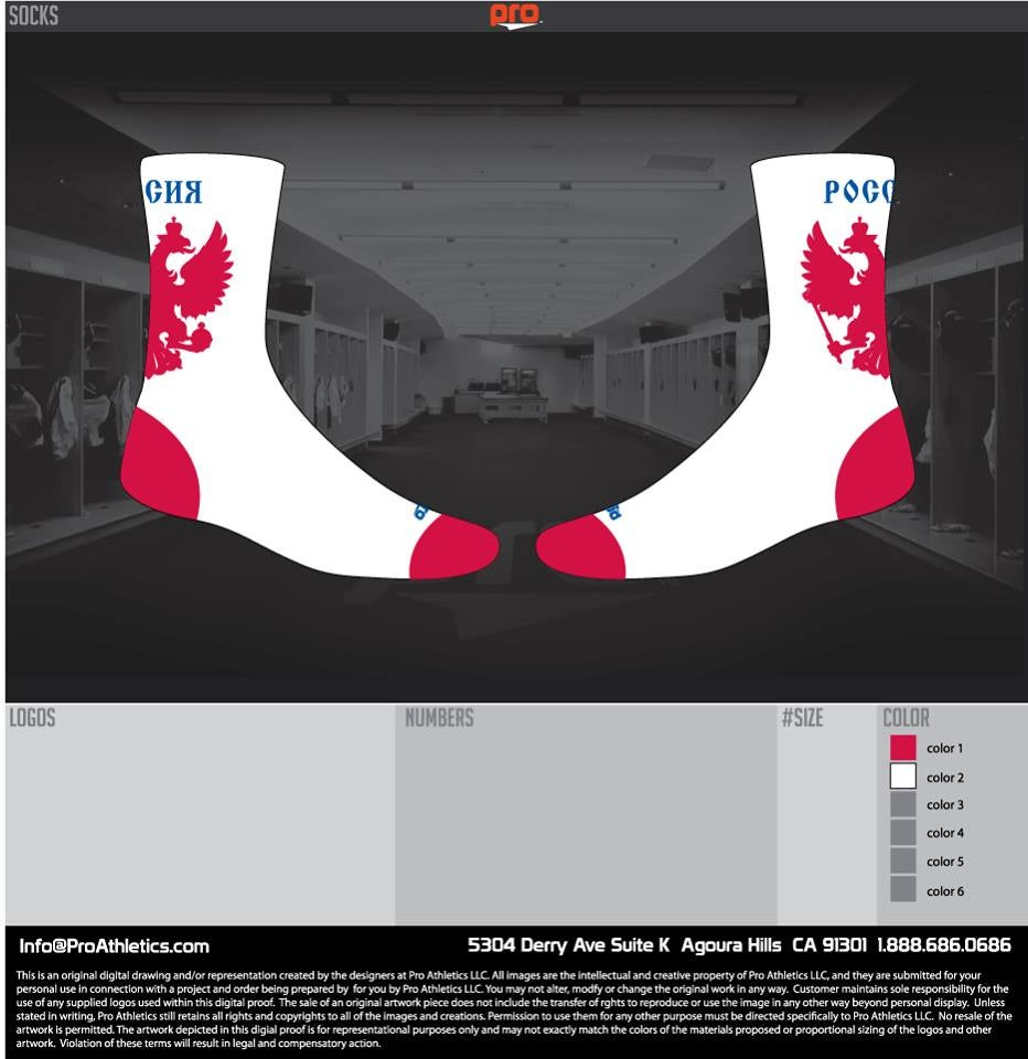 Image of Official Russian Team Socks