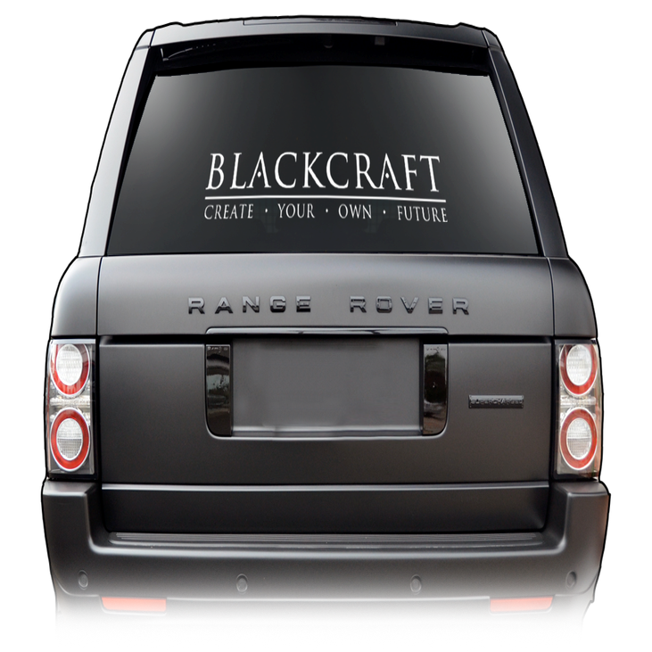 Image of BlackCraft - Large Decal
