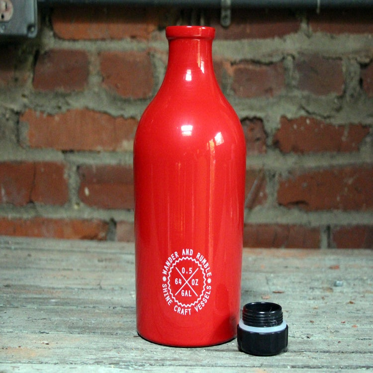 Image of Wander and Rumble Growler, Regal Red