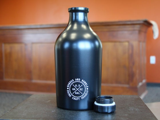 Image of Wander and Rumble Growler, Vintage Black