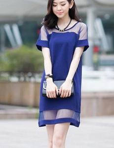 Image of Cute fashion net dress