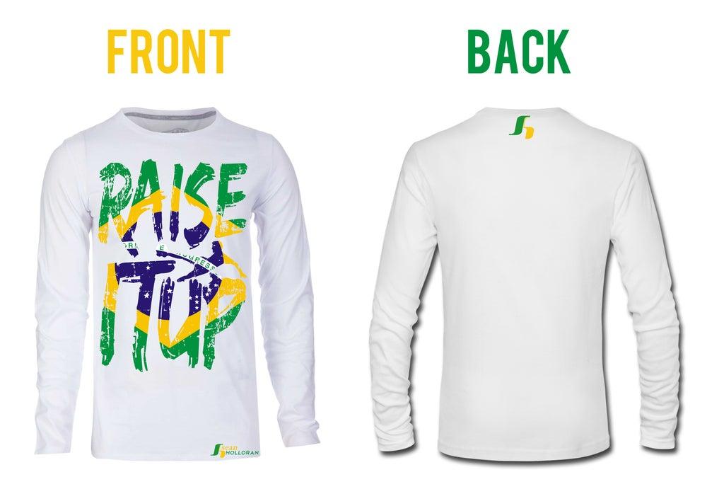 Image of Raise It Up Soccer T-Shirt (Longsleeve)