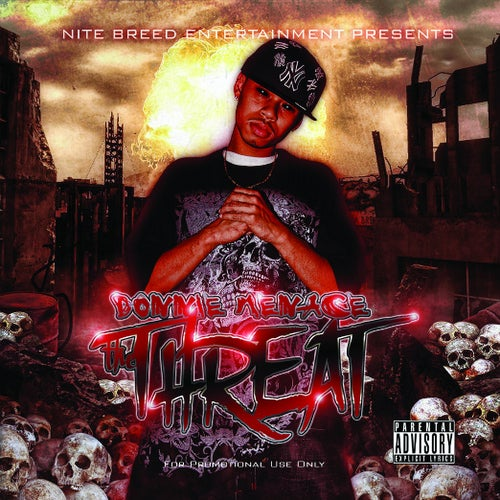 """Image of Donnie Menace """"The Threat"""" CD"""