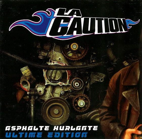 Image of La Caution : Asphalte Hurlante Ultime Edition 2LP vinyl Dernier repressage 50 pièces