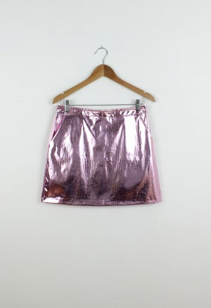 Image of PINK SERPENT SKIRT