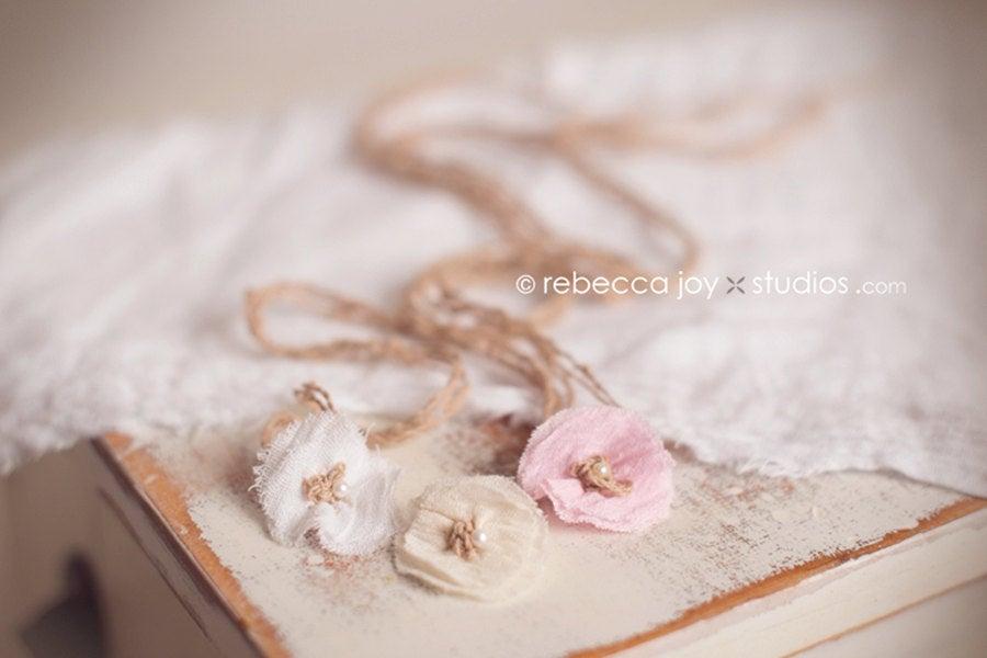 Image of {the Angelic} Gauze wrap & headband SET