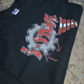 """Image of New Black """"Ladder To Success"""" Tees"""